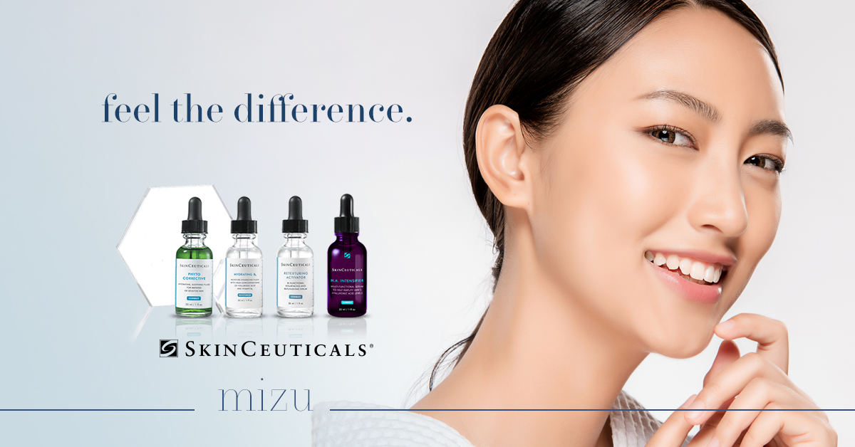 feel the skinceuticals difference