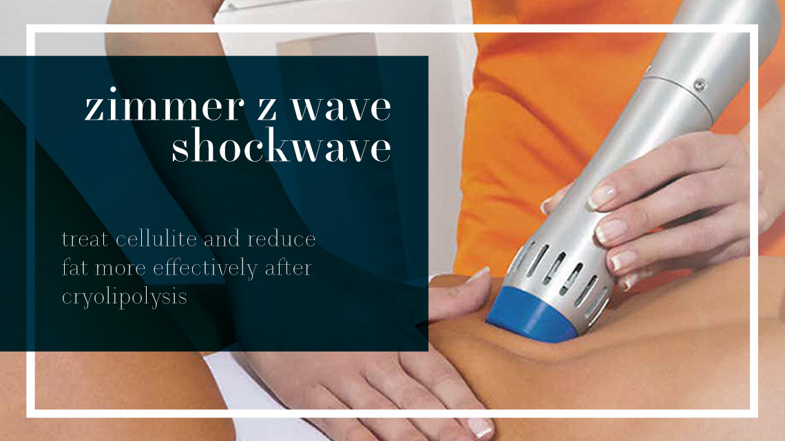 Zimmer Z Wave Pro Shockwave Cellulite Body Treatment